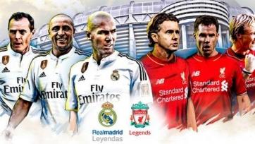 Легендарные игроки мадридского «Реала» выиграли у ретро-команды «Ливерпуля»