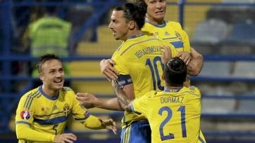 Шведы расправились с черногорцами