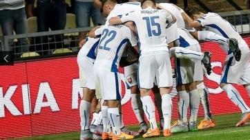 Словакия выиграла у Македонии