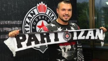 Валери Божинов подписал контракт с «Партизаном»