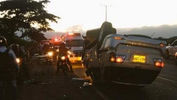 Бывший нападающий «Фулхэма» попал в аварию