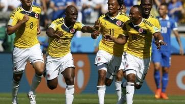 Колумбия оставила бразильцев не у дел