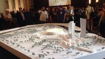 «Рома» представила макет своего нового стадиона