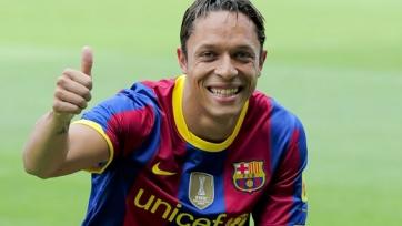 Адриано может уйти из «Барселоны»