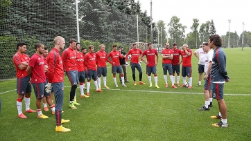 Аленичев: «Понравился эмоциональный настрой футболистов»