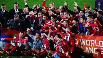 Паунович: «Посвящаем эту победу всему сербскому народу»