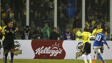 Неймар успел оскорбить судью в матче с Колумбией