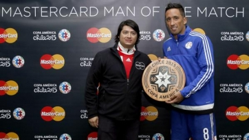Лукас Барриос – лучший игрок встречи между Парагваем и Уругваем