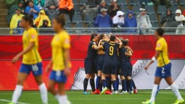 Женская сборная Австралии выбила с ЧМ Бразилию