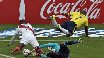 Колумбия и Перу сыграли вничью