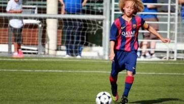 Хави Симонс – молодая надежда «Барселоны»