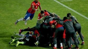 Чилийцы прошли Уругвай