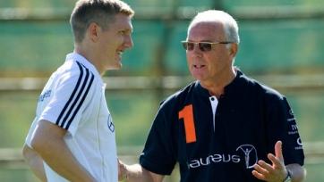 Беккенбауэр считает, что Швайнштайгеру не стоит ехать в «Манчестер Юнайтед»