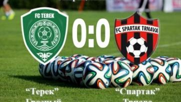 «Терек» и «Спартак» голов друг другу не забили