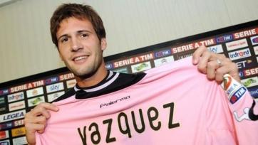 «Палермо» подтвердил, что Васкес останется с командой