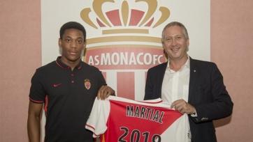 Мартиаль пролонгировал соглашение с «Монако»