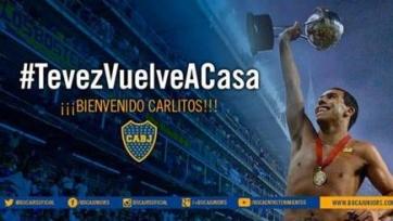 Официально: «Бока Хуниорс» объявил о переходе Тевеса