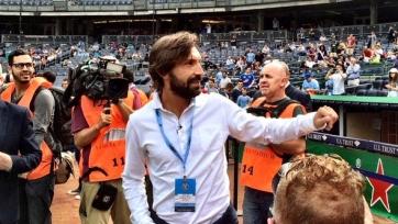 Андреа Пирло посетил матч «Нью-Йорк Сити»