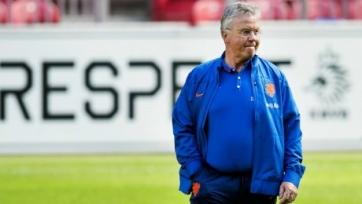 Гус Хиддинк принял решение покинуть сборную Нидерландов