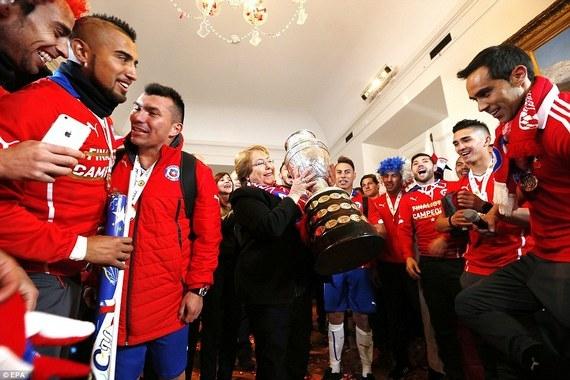 Дневник Кубка Америки-2015. Браво, Чили – добро пожаловать в Россию!