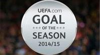 Претенденты на звание лучшего гола сезона-2014/15 от УЕФА