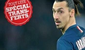 France Football «выгоняет» Ибрагимовича из команды