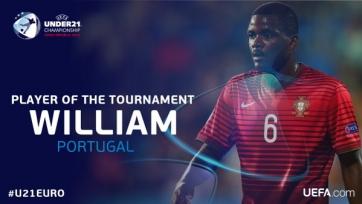 Вилльям Карвалью – лучший игрок молодежного ЧЕ U21