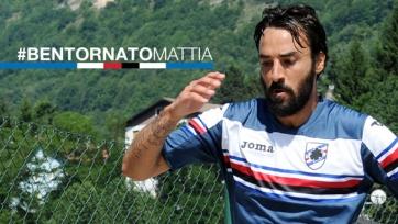 Официально: Маттиа Кассани – игрок «Сампдории»