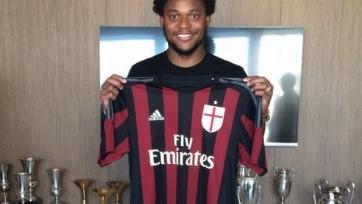 Официально: Луис Адриано перешел в «Милан»
