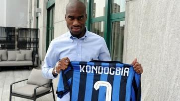 Официально: Кондогбиа перешел в «Интер»