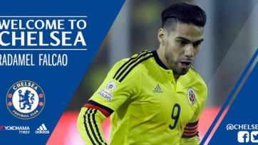 Официально: Радамель Фалькао – игрок «Челси»