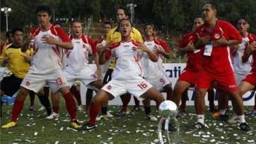 Сборная Таити выиграла у Микронезии со счетом 30:0