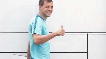 Дзюба открыл счет своим голам в составе «Зенита»