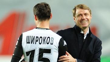 Олег Кононов не против вновь поработать с Широковым