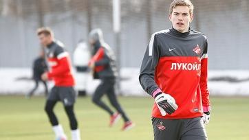 Митрюшкин готов стать основным кипером «Спартака»