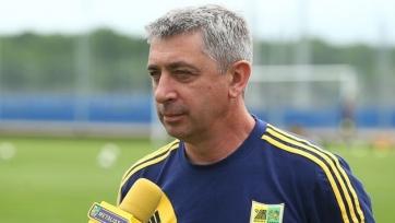 Севидов: «Думаю, к заявке наберем нужное количество игроков»