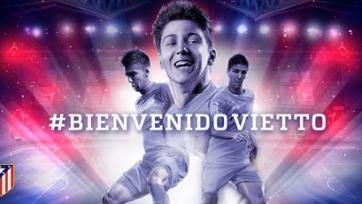 «Атлетико» объявил о переходе Вьетто
