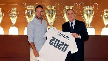 Официально: Карвахаль продлил контракт с «Реалом»
