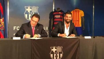 Официально: Туран поставил подпись под контрактом с «Барселоной»
