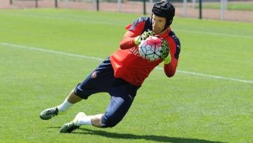 Чех провел первую тренировку в качестве футболиста «Арсенала»