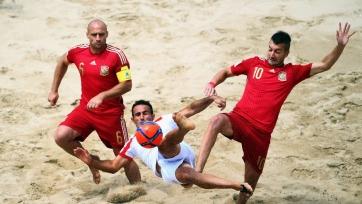 ЧМ. Пляжный футбол. Иран переиграл Испанию