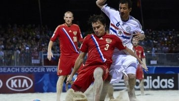 ЧМ. Пляжный футбол. Россия взяла верх в дуэли с Парагваем