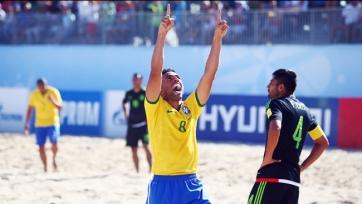 ЧМ. Пляжный футбол. Бразилия разгромила мексиканцев