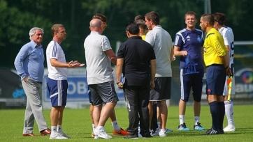 Поединок между «Динамо» и «Викторией» был прерван в конце первого тайма
