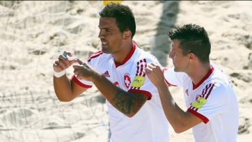 ЧМ. Пляжный футбол. Швейцария добыла новую викторию
