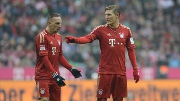 Рибери: «В голове не укладывается, что Швайнштайгер покидает «Баварию»