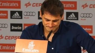 Касильяс дал прощальную пресс-конференцию