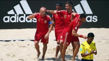 ЧМ. Пляжный футбол. Испания разобралась с Мексикой