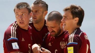 ЧМ. Пляжный футбол. Россия снова побеждает