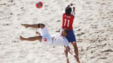 ЧМ. Пляжный футбол. Парагвай и Таити забили на двоих 12 голов